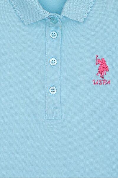 Mavı Kız Çocuk T-Shirt