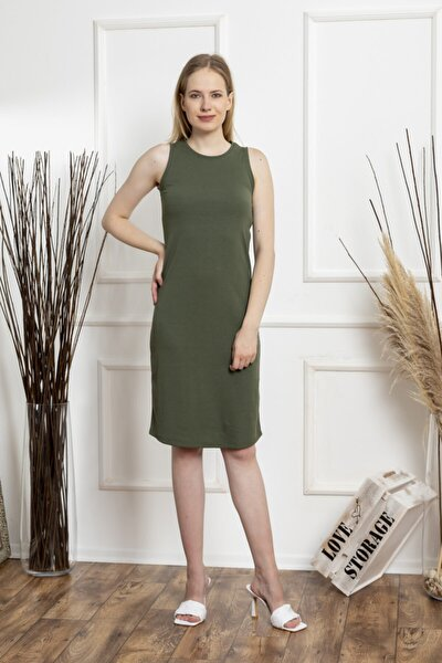 Kadın Yeşil Atlet Elbise