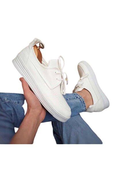 Erkek Beyaz Günlük Erkek Ayakkabı