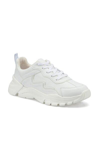REGAN Beyaz Erkek Kalın Taban Sneaker Spor Ayakkabı 100496671