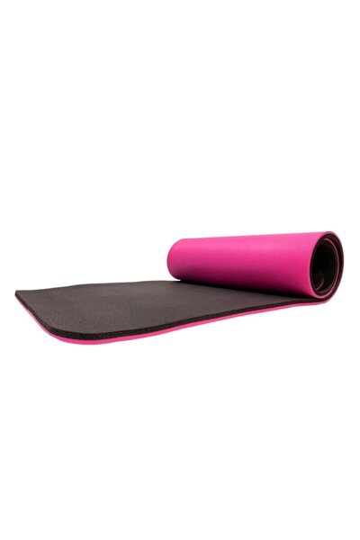 Pembe Profesyonel Yoga Matı 16 Mm Pilates Minderi Pembe