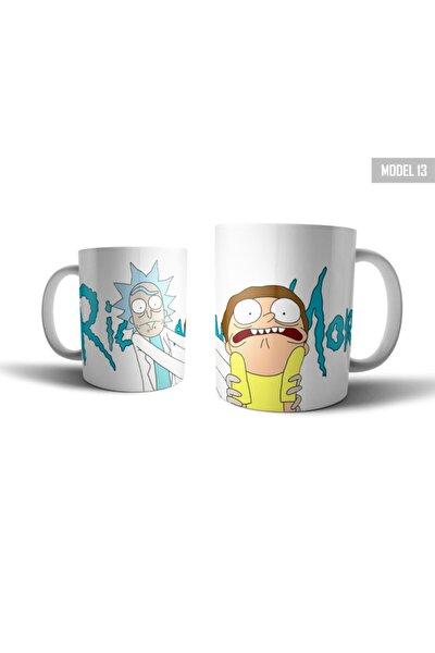 Rick And Morty Kupa Bardak Model 13