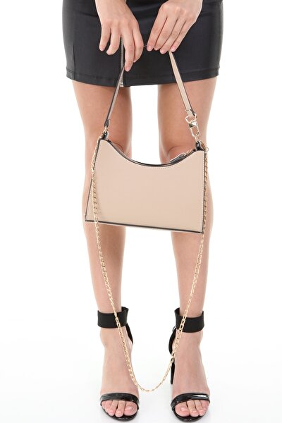 Vizon Kadın Baguette Model El Ve Omuz Çantası