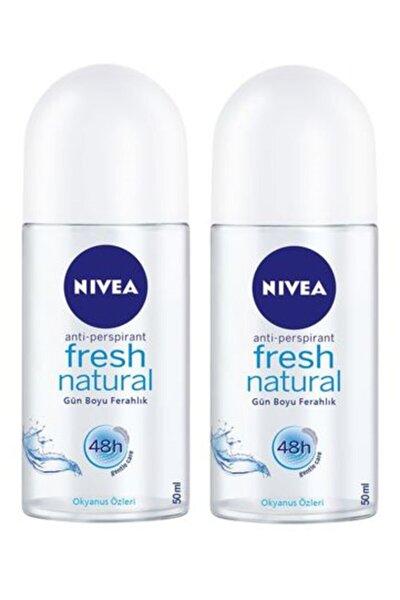 Roll On Bayan 50 ml Fresh Natural 2 Adet