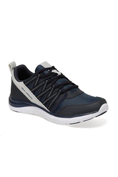 EC-1092 Lacivert Erkek Kalın Taban Sneaker Spor Ayakkabı 100569807