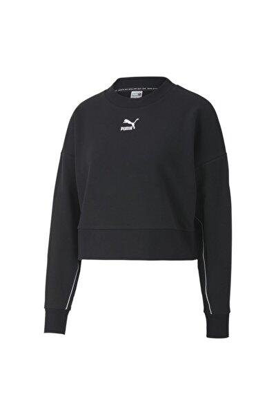 Classics Cropped Crew Kadın Sweatshirt - 59763701