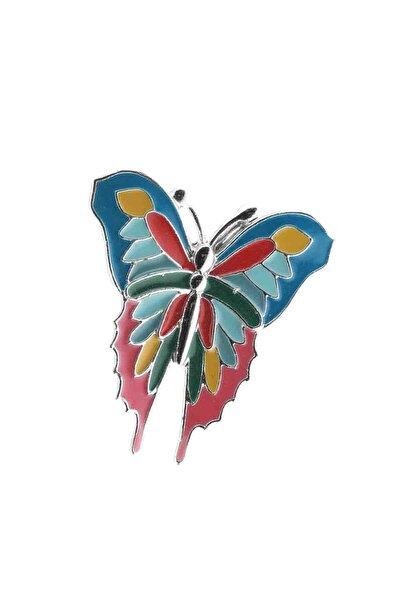 Büyük Ebatlı Ayarlanabilir Espirili Kelebek Genç Kız Yüzük
