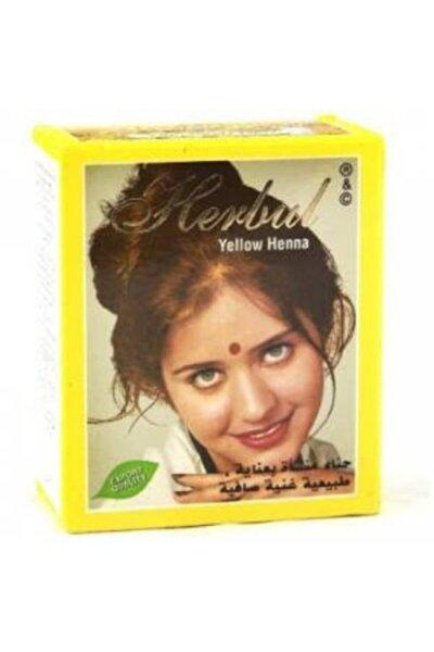 Hint Kınası Sarı Renk (yellow Henna) 6'lı Paket