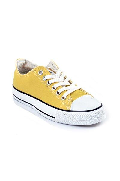 Kadın Sarı Club Converse Ayakkabı Spc-01