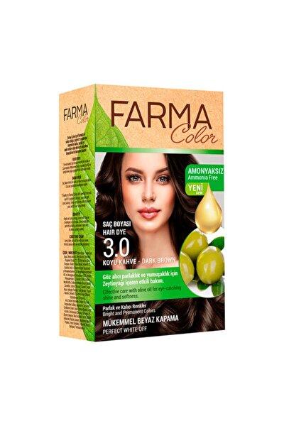 Farmacolor Saç Boyası 3.0 Koyu Kahve
