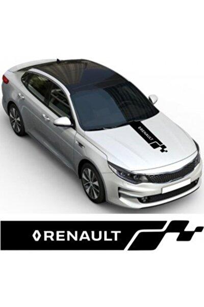 Renault Kaput Oto Sticker Yapıştırma