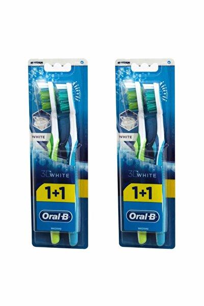 Diş Fırçası 3d White 1+1 2 adet