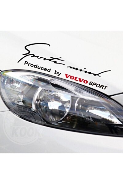 Volvo Mind Sport Araba Tampon Araç Sticker Yapıştırma