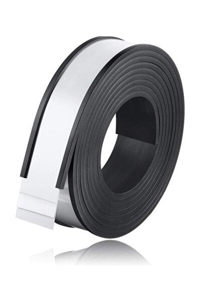Kanallı Etiketlik Şerit Mıknatıs Magnet, Raf Magneti, En 30cm, Boy 1 Metre, ÜCRETSİZ KARGO