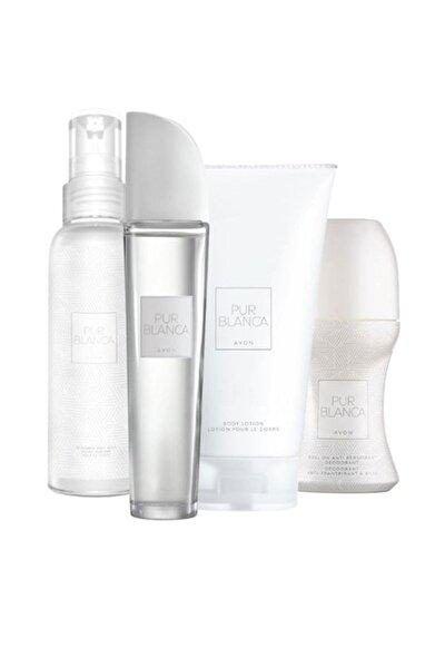 Pur Blanca Edt 50 ml Kadın Parfüm Seti euaa80008