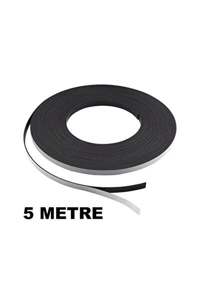 5 Metre Şerit Magnet Mıknatıs - Arkası Yapışkanlı Çıkartmalı(5 Metre)