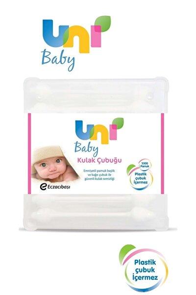 Bebekler İçin Emniyetli Kulak Temizleme Çubuğu 60 adet