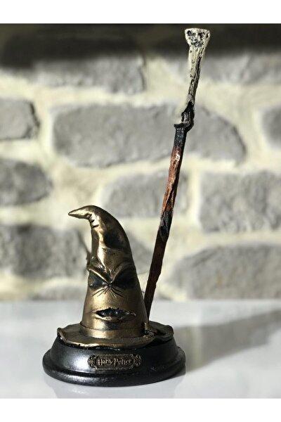 Seçmen Şapka Harry Potter Asa ile birlikte - Harry Potter