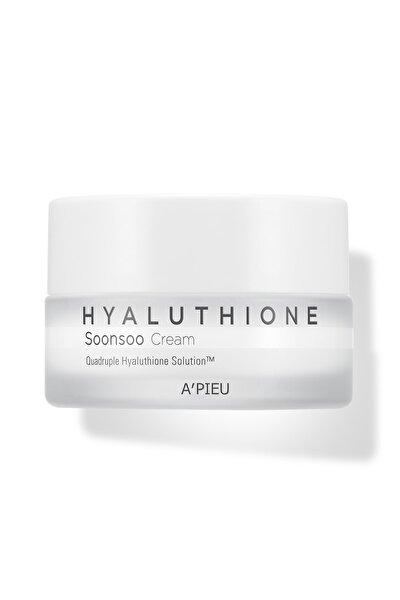 4 Çeşit Hyalüronik Asit Içeren Nemlendirici Krem 50ml Apıeu Hyaluthione Soonsoo Cream