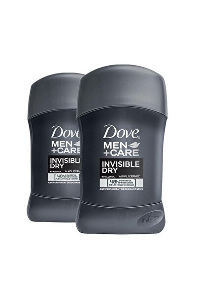 Men Erkek Deodorant Stick Invisible 50 ml  x 2 Adet