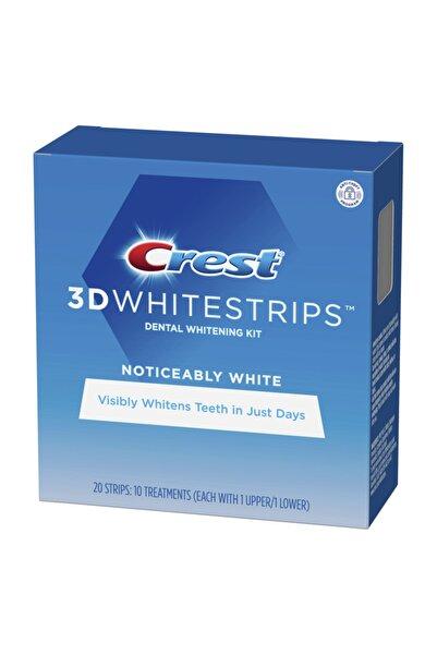 3D White Noticeably Whitestrips Diş Beyazlatma Bantı 10 paket 20bant