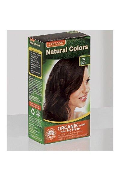 Natural Colors 5n Açık Kahve Organik Saç Boyası
