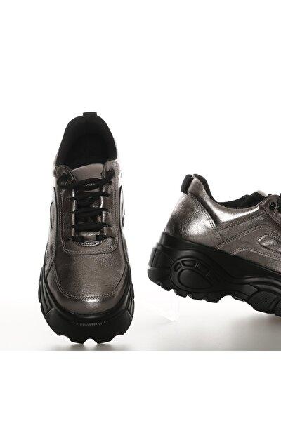 Kadın Platin Sneaker