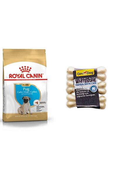 Pug Puppy Köpek Maması 1,5 Kg +gimdog 3'lü Diş Dostu Kemik