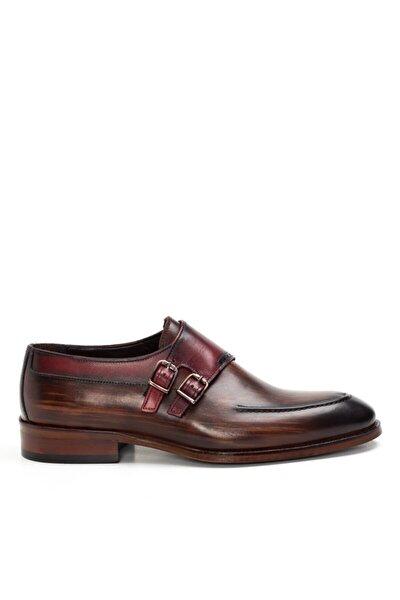 Cg 081-1 Erkek Ayakkabı Kahverengi/bordo