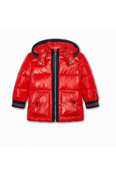 Erkek Kırmızı Çocuk Bomber Mont