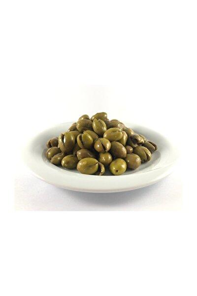 Halhalı Kırık Yeşil Zeytin 1,5 Kg