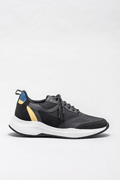 Erkek Haddon Sıyah Sneaker20KTA869-12