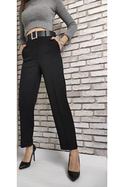 Kadın Kemerli Pantolon