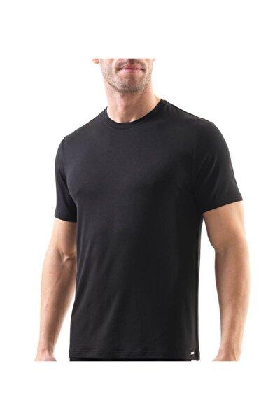 Erkek T-shirt Silver 9306 - Siyah