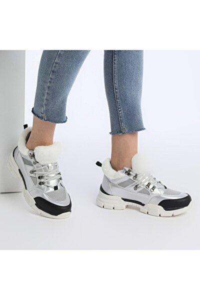 VIDMORE KRK Gümüş Kadın Fashion Sneaker 100555016