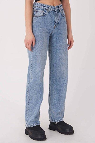Kadın Açık Kot Rengi Cep Detaylı Jean Pantolon Pn7038 - Pnb ADX-0000023450