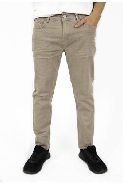 Krem Rengi Jeans