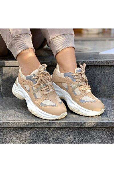 Mel Shoes Kadın Nude Sneaker Mel0002020-02