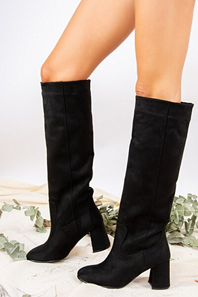 Siyah Kadın Çizme J749198302