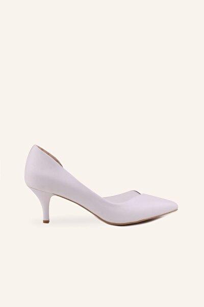Beyaz Nüans Mini Stiletto