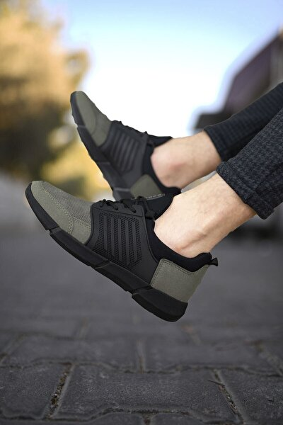 Haki Cilt Erkek Sneaker 0012105