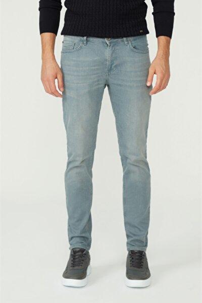 Erkek Gri Skinny Fit Jean Pantolon A02y3501