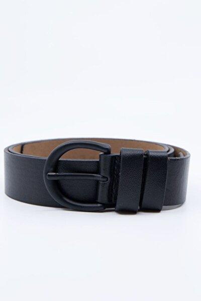 Siyah Tokalı Kemer Genişlik 3,3cm 0029