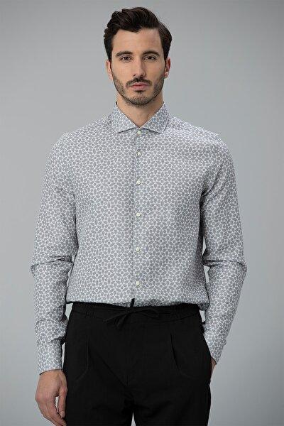 Remo Smart Gömlek Comfort Slim Fit Gri