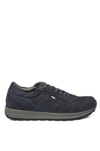 Lacivert Nubuk Erkek Yürüyüş Ayakkabısı 5660 Nl