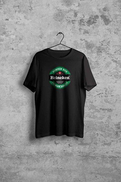 Heineken Erkek Siyah Tshirt