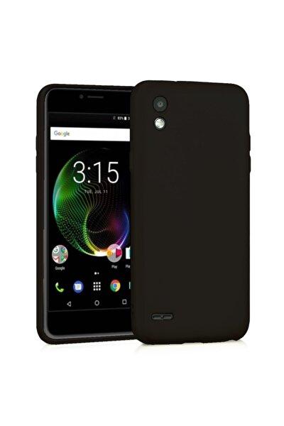 Venus V3 5040 Premium Simple Silikon Arka Kapak Siyah