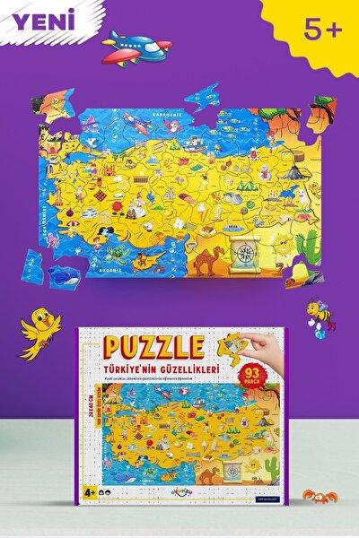 & Oyunzu Türkiye Haritası Puzzle 93 Parça – Deoy1000