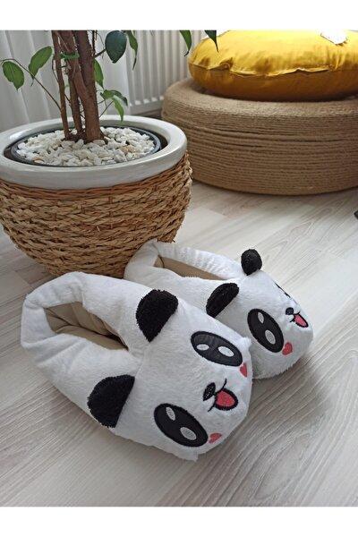 Sevimli Peluş Panda Panduf