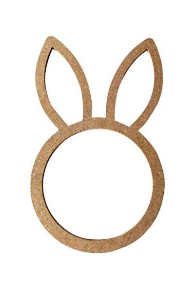 Cnc Kesim Tavşan Kulaklı Kasnak 30x18